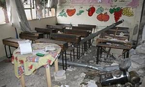 تربية دمشق: 290 مليون ليرة أضرار 200 مدرسة وإعتماد تصاميم جديدة لأبنية المدارس