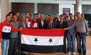 سورية تتأهل لنهائي العالمي لمسابقة البرمجية للكليات الجامعية المقرر في روسيا الاتحادية