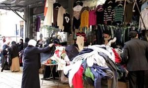 أسعار الألبسة تنعش أسواق البالة...حماية المستهلك: استيراد البالة مازال ممنوعاً وبحاجة إلى تنظيم!!
