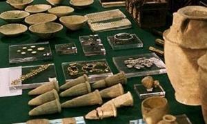 مصادرة 151 قطعة أثرية في طرطوس معدة للتهريب إلى لبنان