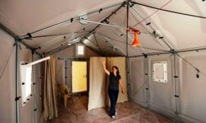 لبنان يرفض استلام منازل تشبه الخيم من شركة إيكيا السويدية للاجئين السوريين