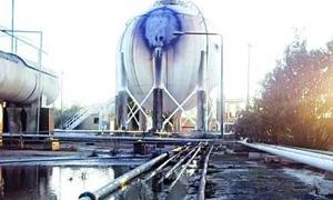 انخفاض كميات الغاز اللازمة لمحطات توليد الكهرباء بعد توقف معمل غاز كونيكو بدير الزور