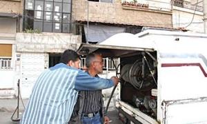 آلية جديدة لتزويد سيارات الشحن بالمازوت في طرطوس