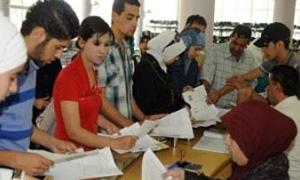 9 الشهر الجاري لاستكمال طلبات امتحانات الدورة البديلة لطلاب جامعة حلب