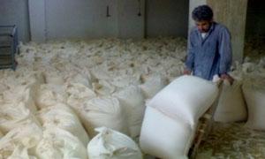 مصادرة 18 طناً من الدقيق التمويني المهرب..السالم: تنظيم أكثر من 1124 ضبطاً تموينياً خلال تشرين الثاني الجاري