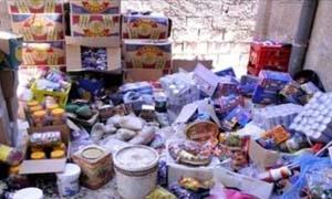 1400 ضبط نمويني في حماة منذ بداية العام..وإتلاف 8 أطنان من المواد الغذائية المخالفة