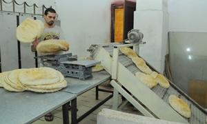 18 مخبز احتياطي من أصل 26 يعمل في دمشق بمعدل 250 طناً يومياً