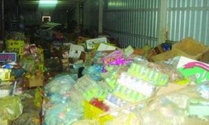 ضبط 300 كغ أغذية أطفال منتهية الصلاحية في حلب