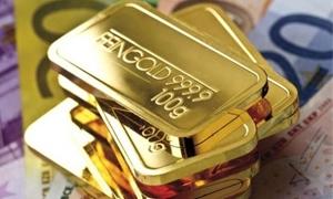 الذهب يتراجع عند 1312.40 للأوقية.. واليورو عند أدنى مستوى في عامين