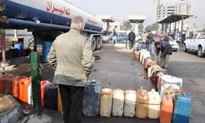 نخلة: انخفاض مبيعات المازوت في دمشق 40%