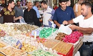 أسعار الحلويات في اللاذقية ترتفع 200-300% وكيلو السكاكر 750 ليرة