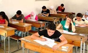 برنامج الامتحانات الثانوية في سورية.. أول حزيران القادم الانطلاق