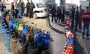 محافظ حماة يطالب بالتشديد على مراقبة محطات وقود قبل تفريغ حمولة الصهاريج