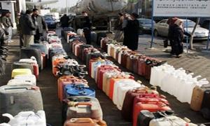 محروقات ريف دمشق تواصل توزيع المازوت على المواطنين