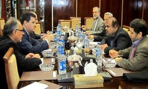 اجتماع سوري إيراني عراقي لمتابعة تنفيذ مشروع خط الغاز المشترك