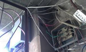 تنظيم 13 ضبط سرقة كهرباء في دمشق خلال يوم واحد