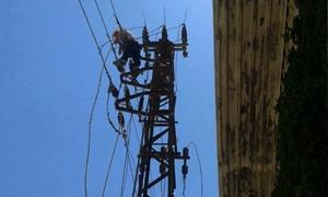 مدير كهرباء دمشق: إضافة وإدخال 65 مركز تحويل ومحولة جديدة للحد من الفاقد الكهربائي