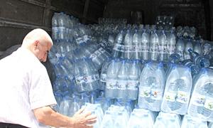 المياه المعدنية تدخل السوق السوداء بعد رفع أسعار مياه الشرب.. البقين بـ560  و الفيجة بـ480 ليرة