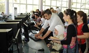 تأجيل اللقاءات الدورية للتعليم المفتوح بجامعة دمشق غدا