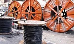 كابلات دمشق تبيع بـ2.5 مليار ليرة خلال الأشهر الأربعة الأولى من العام الحالي