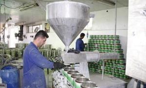 أكثر من 218 مليون ليرة مبيعات شركة الدهانات خلال العام 2012