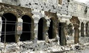 محافظ حلب: 2.5 مليار دولار خسائر المحافظة جراء النزاع السوري