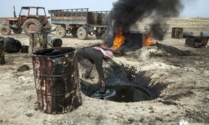 إحصائية جديدة..27 مليار دولار خسائر قطاع النفط في سورية خلال الأزمة