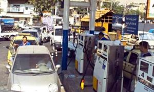 مليون ليتر بنزين إلى دمشق يومياً.. وانخفاض ازدحام محطات الوقود50%