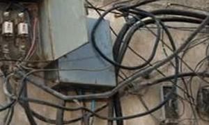 ضبط 900 مخالفة كهرباء بإدلب