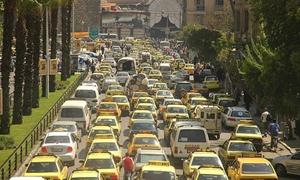 نقل دمشق: تسجيل 220 سيارة بإجمالي رسوم 867 مليون ليرة في 9 أشهر