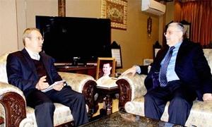 وزير الاقتصاد يبحث مع السفير الروسي  توسيع وتطوير العلاقات الاقتصادية والاستثمارية