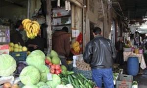 تموين دمشق: تنظيم  أكثر من 30 ضبطا تموينياً يومياً في الأسواق