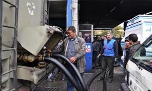 محروقات ريف دمشق تمهل أصحاب المحطات 20 يوماً لشراء صهاريج لنقل المازوت والبنزين إليها