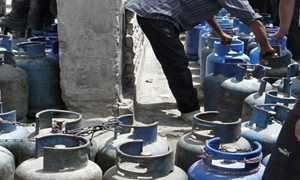 استمرار توزيع الغاز في دمشق بسعر 1100 ليرة