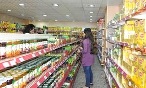 تقرير: ارتفاع اسعار المعلبات والمواد الغذائية في دمشق 10%