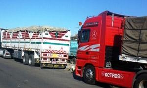 مسؤول لبناني: اغلاق معبر نصيب ضربة قاضية قد تؤدي إلى انهيار صادرات لبنان