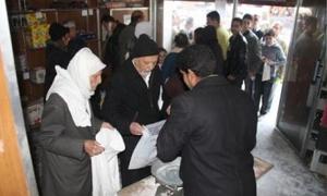 استهلاكية دمشق توزع 1400 طن من المواد المدعومة