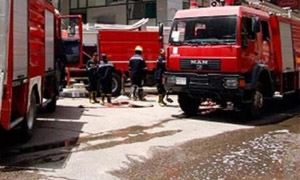 إخماد حريق في الصبورة من دون وقوع إصابات