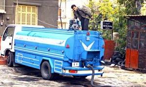 تموين دمشق تخصص 25 صهريجاً لتوزيع المازوت للمواطنين عبر الغالونات