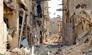 تقرير: 50 ألف منزل مدمر او متضرر في حمص..وعقود مع6 شركات لترحيل مليون طن من الأنقاض