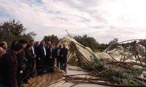 محافظة اللاذقية: إحصاء الأضرار الزراعية وتعويض 3027 فلاحاً مستحقاً