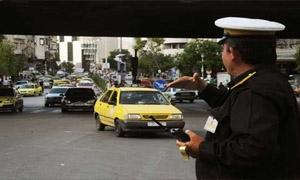 مرور دمشق: 900 ضبط لسائقي سيارات الأجرة