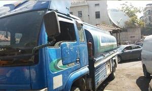 تموين دمشق: ضبط بولمان يتاجر بمادة المازوت في دمر البلد