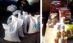 المساعدات الإنسانية..متاجرة وضح النهار على حساب المهجرين السوريين