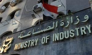 وزارة الصناعة تعيد تأهيل 22 معملا متضررا بشكل جزئي