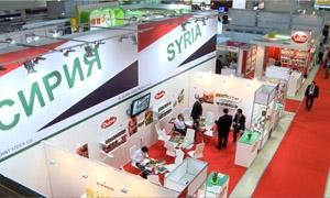 بالصور: مشاركة سورية واسعة بالمعرض الدولي للصناعات الغذائية في موسكو