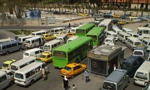 ارتفاع عدد باصات النقل الداخلي العاملة في دمشق إلى 168 باصاً