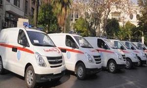 سورية تتسلم 15 سيارة إسعاف مجهزة كاهداء من إيران