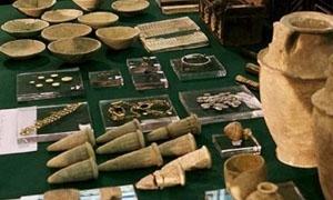 قطع أثرية مسروقة تعود لـ2000 عاماً في تدمر