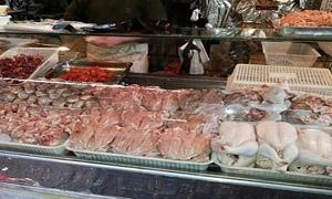 ارتفاع أسعار الفروج مقابل استقرار بسعر صحن البيض بريف دمشق
